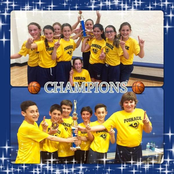 5th grade basketball champs 2015