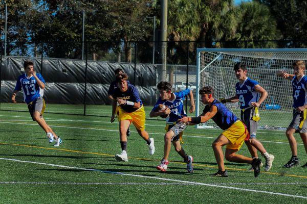 flag football semifinals 1-2