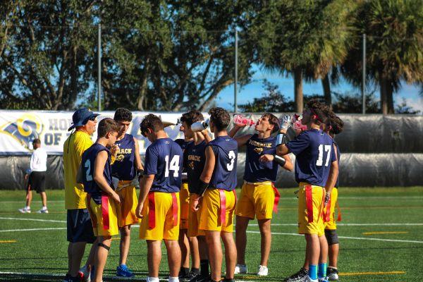 flag football semifinals 4-2